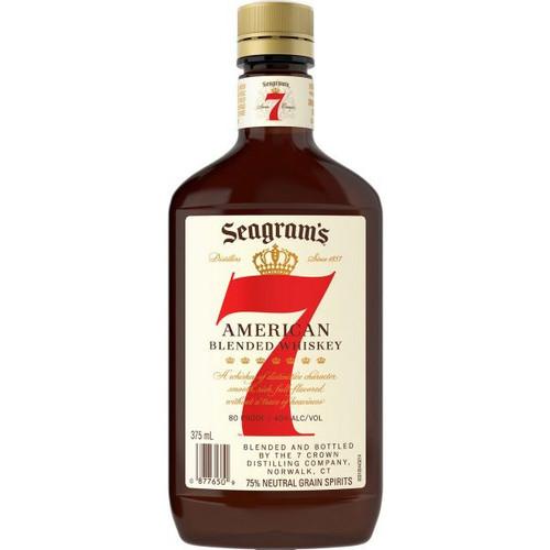 Seagram's 7 Crown American Blended Whiskey 375mL