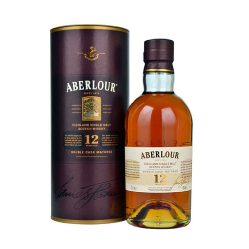 Aberlour 12 Year Double Cask Highland Single Malt Scotch Whisky 750mL