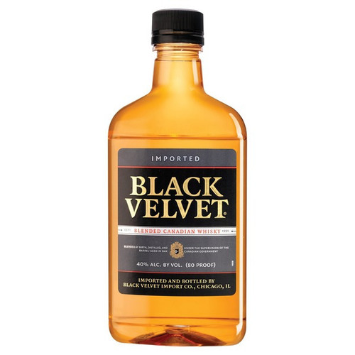 Black Velvet Blended Canadian Whisky 375mL