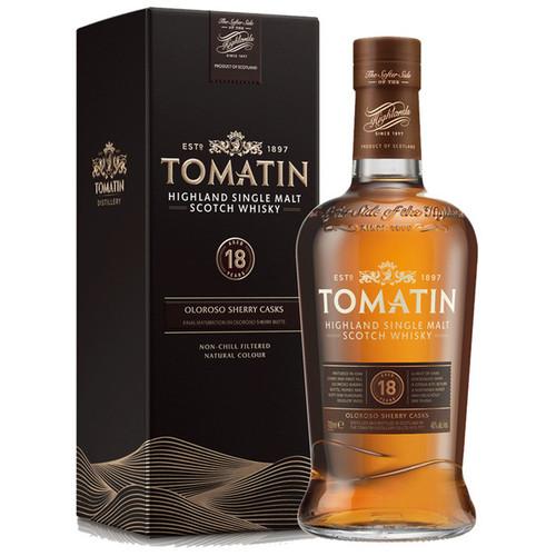 Tomatin 18 Year Oloroso Sherry Casks Highland Single Malt Scotch Whisky 750mL