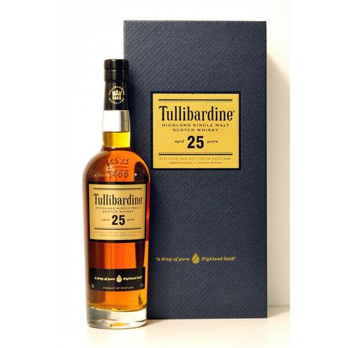 Tullibardine 25 Year Highland Single Malt Scotch Whisky 750mL