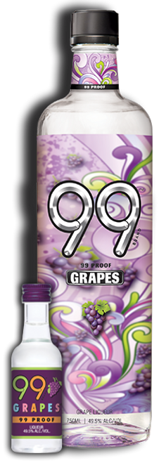 99 Brand Grapes 99 Proof Liqueur 750mL