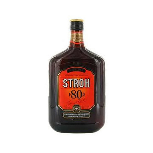 """Stroh """"80"""" Original Dark Austrian Rum 750mL"""