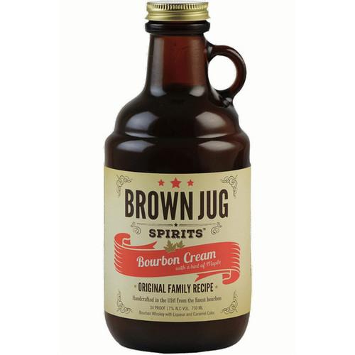 Brown Jug Spirits Bourbon Cream Liqueur 750mL