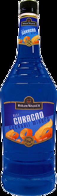 Hiram Walker Blue Cuacao Cocktail Mixers 750mL