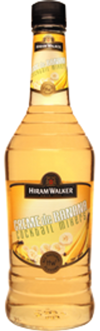 Hiram Walker Creme de Banana Cocktail Mixers 750mL