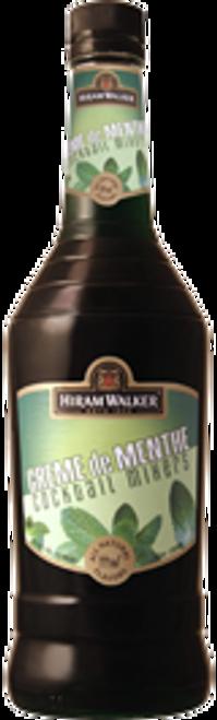 Hiram Walker Creme de Menthe Dark Cocktail Mixers 750mL
