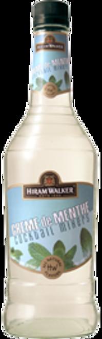 Hiram Walker Creme de Menthe Light Cocktail Mixers 750mL