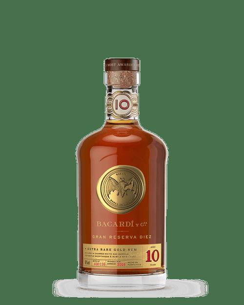 Bacardi 10 Year Gran Reserva Diez Puerto Rican Rum 750mL