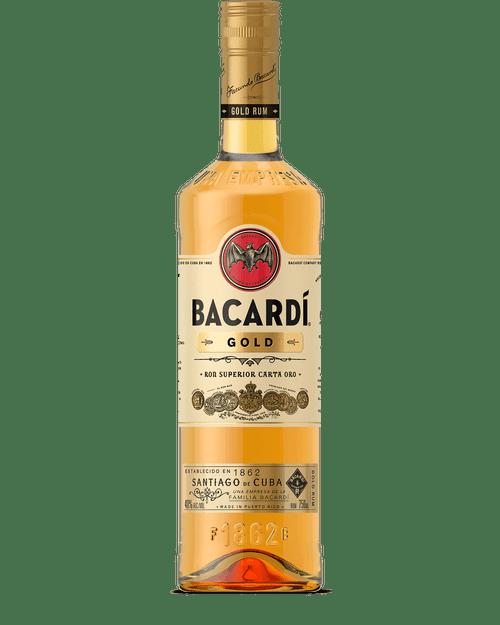 Bacardi Gold Puerto Rican Rum 750mL