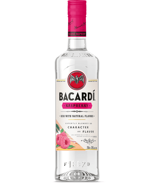 Bacardi Razz Raspberry Flavored Rum 750mL