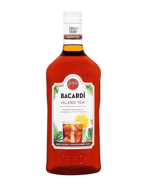 Bacardi Party Drinks Rum Island Iced Tea 1.75L