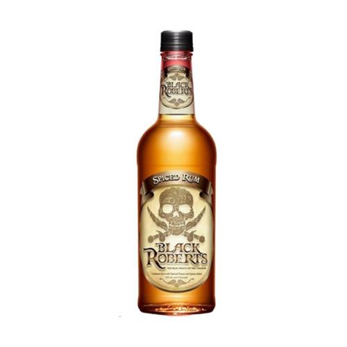 Black Roberts Caribbean Spiced Rum 750mL