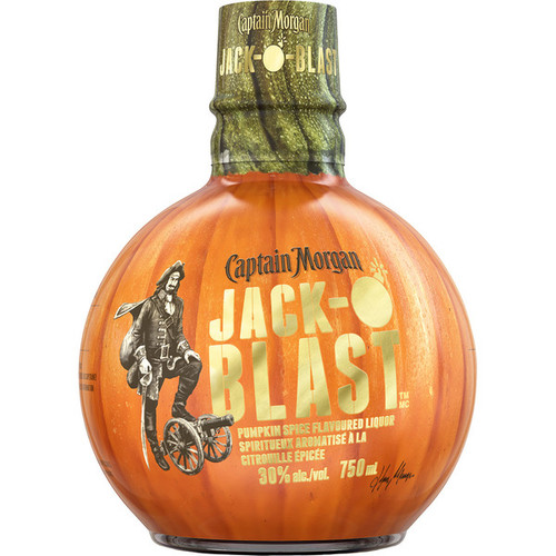 Captain Morgan Jack-O Blast Pumpkin Spice Flavored Rum 750mL