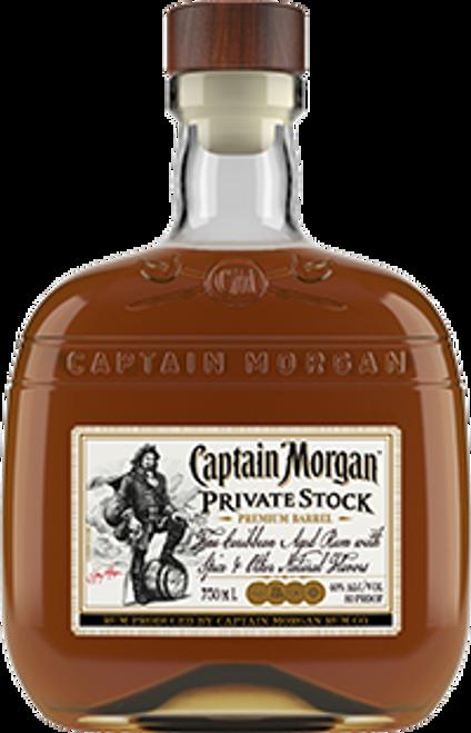 Captain Morgan Private Stock Premium Barrel Rum 750mL