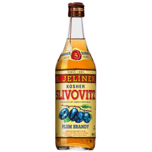 R. Jelínek 5 Year Vizovice, Czech Republic Kosher Slivovitz Plum Brandy 750mL