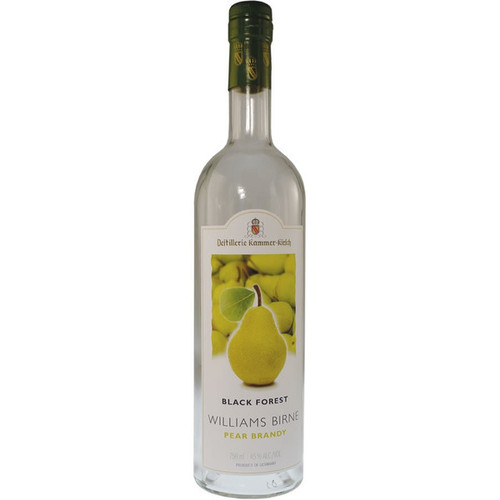 Destillerie Kammer-Kirsch Black Forest Williams Birne Pear Brandy 750mL