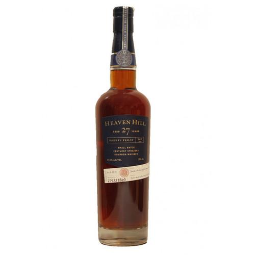 Heaven Hill 27 Year Barrel Proof Small Batch Kentucky Straight Bourbon Whiskey 750mL