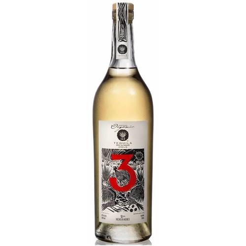 123 #3 Tequila Añejo 750mL