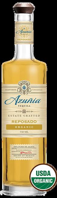 Azuñia Tequila Reposado Organic 750mL