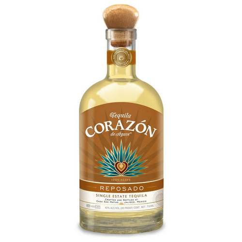 Corazon Tequila Single Estate Reposado 750mL