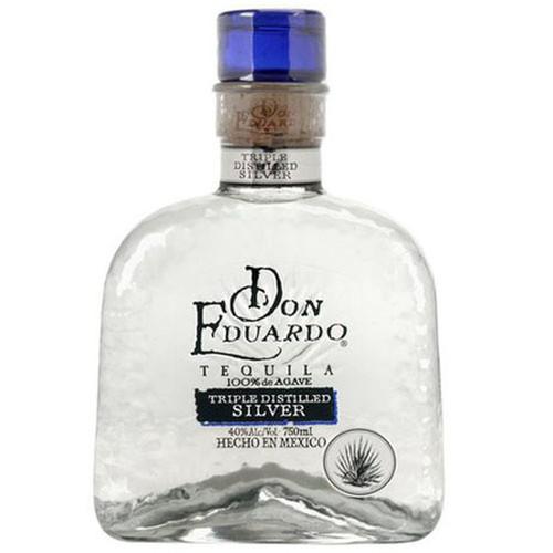Don Eduardo Tequila Triple Distilled Silver 750mL