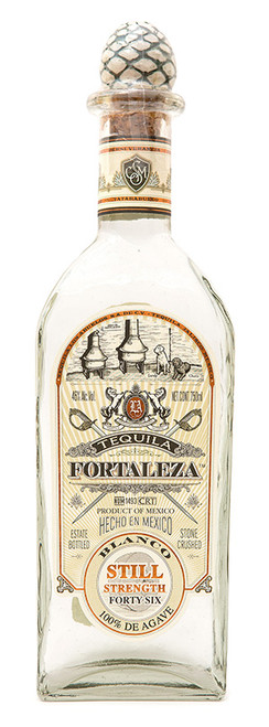 Fortaleza Tequila Blanco Still Strength Forty-Six 750mL