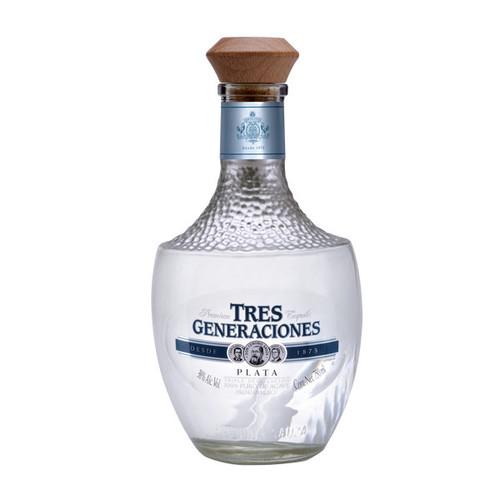 Tres Generaciones Tequila Plata 750mL