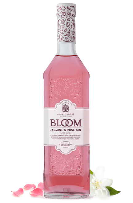 Bloom Jasmine & Rose Limited Edition Gin 750mL