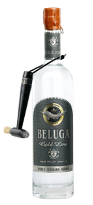 Beluga Noble Russian Gold Line Vodka 750mL