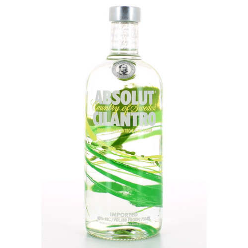 Absolut Cilantro Flavored Vodka 750mL