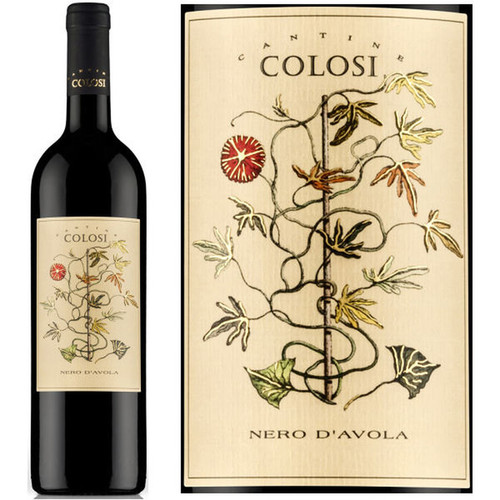 Colosi Nero D'Avola 2018 Red Wine Italy 750mL