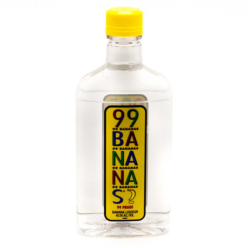 99 Brand Bananas 99 Proof Liqueur 200mL