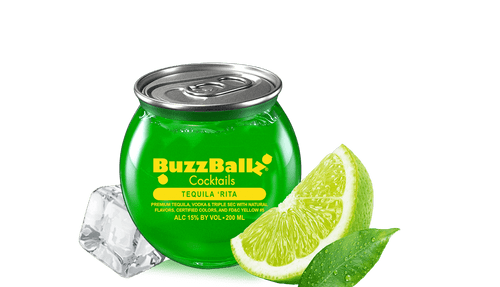 BuzzBallz Cocktails Tequila Rita Cocktail 200mL