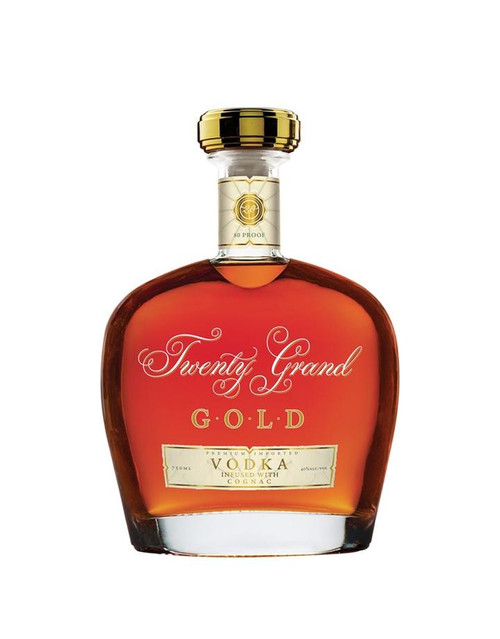 Twenty Grand Gold Vodka Infused With Cognac 750mL