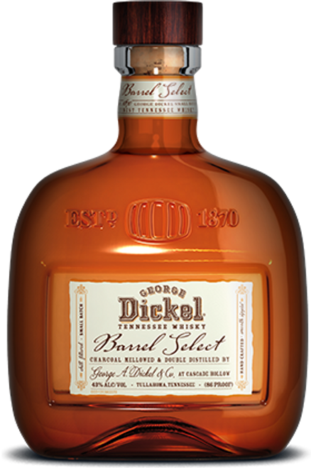 George Dickel Barrel Select Tennessee Whiskey 750mL