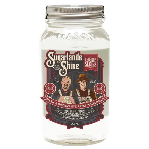Sugarland's Shine Mark & Digger's Rye Aple Moonshine 750mL