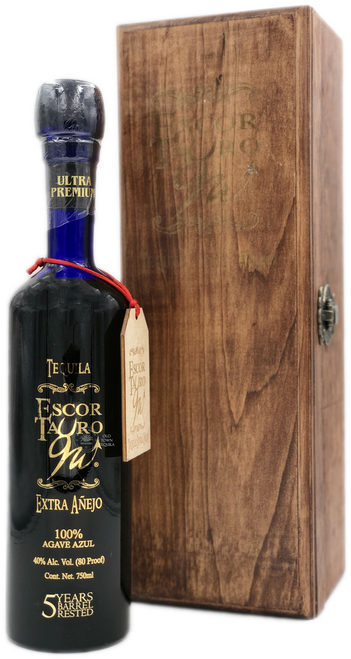 Escor Tauro 5 Years Barrel Rested Extra Añejo Tequila 750mL