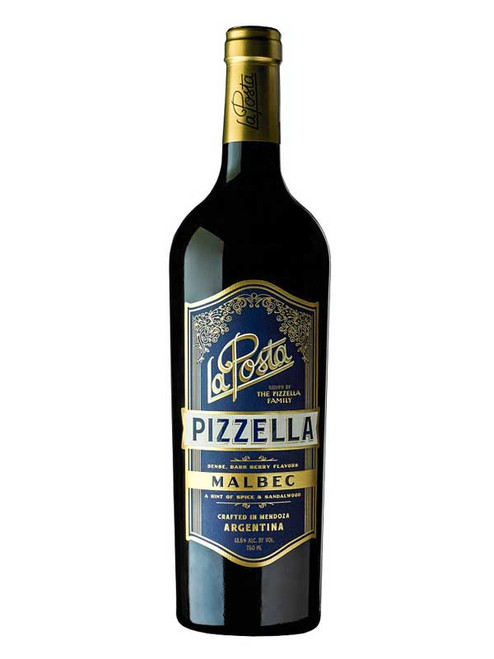 La Posta 2017 Valle de Uco Pizzella Family Vineyard Malbec 750mL
