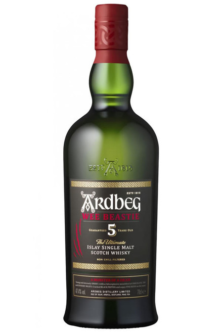 Ardbeg Wee Beastie 5 Year Old The Ultimate Single Malt Scotch Whisky 750mL