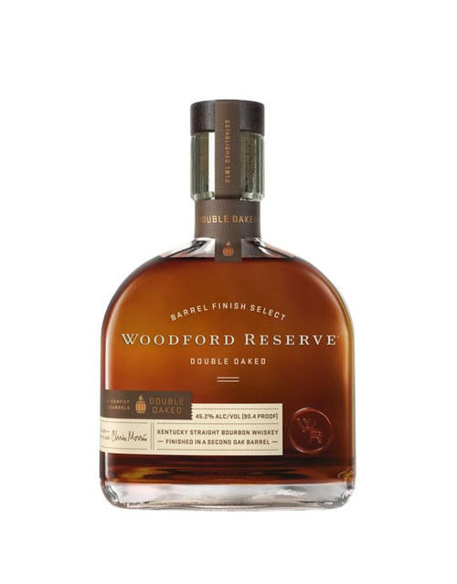 Woodford Reserve Barrel Finish Select Double Oaked Kentucky Straight Bourbon Whiskey 750mL