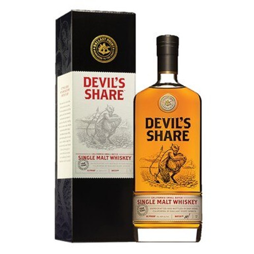 Ballast Point 'Devil's Share' Small Batch #1 Bourbon Whiskey 750mL 1
