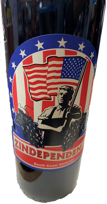 Zindependence South Coast Zinfandel 750mL