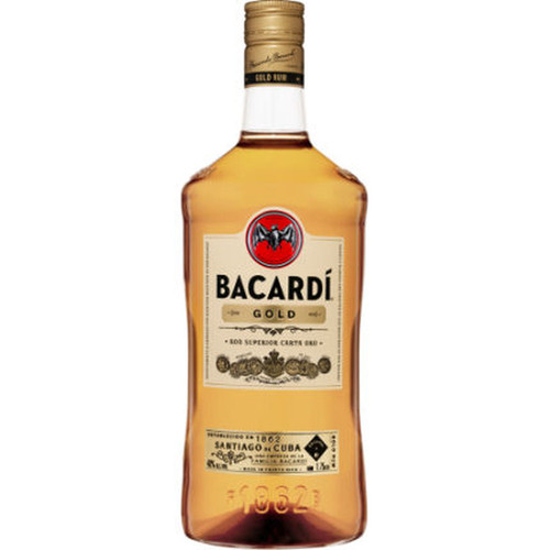Bacardi Gold Puerto Rican Rum 1.75L