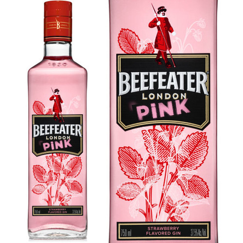 Beefeater London Pink Strawberry Flavored Gin 750mL