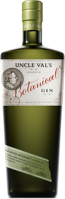 Uncle Val's Handcrafted Botanical Dry Gin 750mL