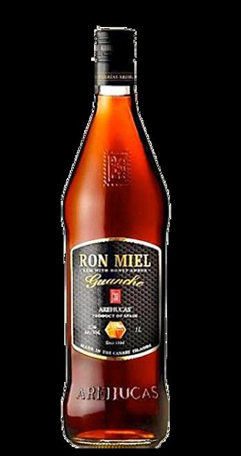 Ron Miel Guanche Arehucas Honey Spanish Rum 1L