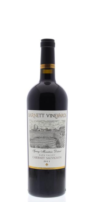 Barnett Vineyards 2011 Spring Mountain District Napa Valley Cabernet Sauvignon 750mL