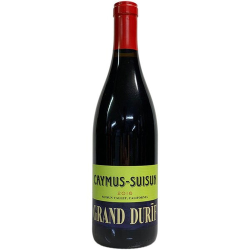 Caymus-Suisun 2016 Suisun Valley Petite Sirah Grand Durif Red Wine 750mL