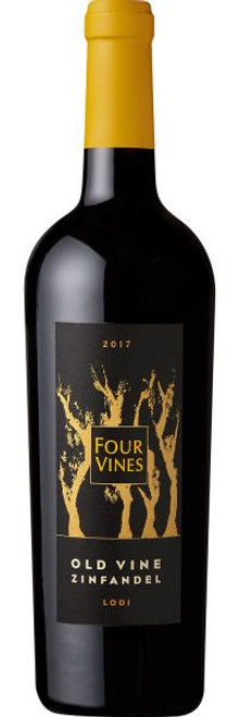 Four Vines 2017 Old Vine Zinfandel Lodi 750mL